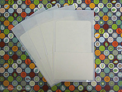 100 Self Adhesive Library Pockets - Reinforced