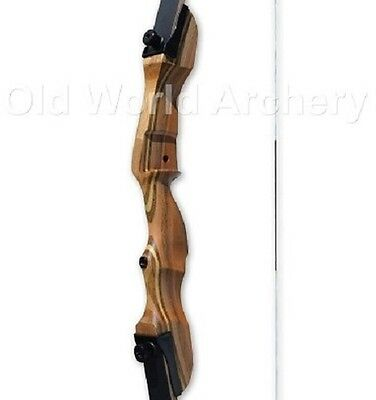 "Fleetwood Monarch Takedown Recurve Bow 62"" RISER ONLY Left Handed"