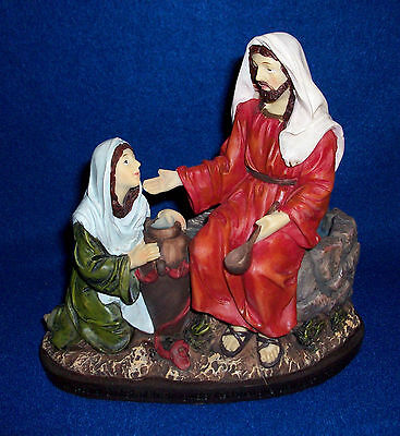 Jesus At The Well Figurine