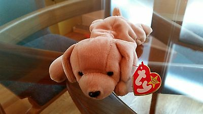'Fetch' the Dog - Ty Beanie Baby - MINT - RETIRED
