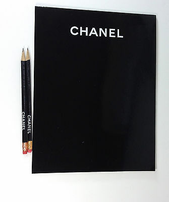 CHANEL NOTEPAD AND CHANEL PENCILS  VIP GIFT