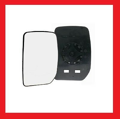 Ford Transit MK6 & 7 2000 To 2014 Manual Wing Mirror Glass Passenger Side N/S