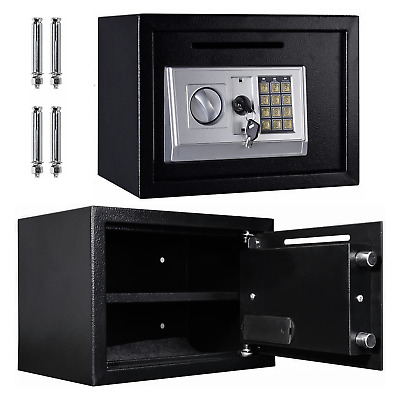 New Large Electronic High Security Digital Lock Steel Strong Box Home Safe