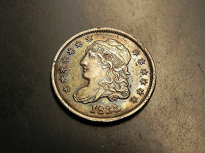 Rare 1833 Silver Bust Half Dime Ms Bu Unc ++++ Details Buy It Now Or Offer