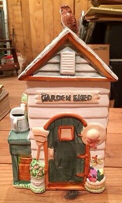 Garden Shed Cookie Jar
