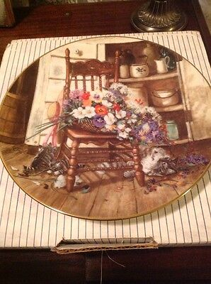 Bradford Exchange Collector Plate By G.S. George Pottery & China