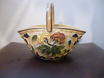 Indian Tree Posy Basket  H J Wood staffordshire