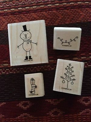 Stampin Up 'Mr Twigster' Christmas Stamp Set ~ With Bonus!