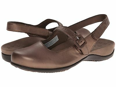 NEW - Women's VIONIC with Orthaheel Technology Abigail Slingback Mule - Bronze