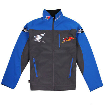 Honda Racing Shell Jacekt Windproof & Water Resistant Size M-Xl