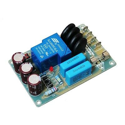 Sound power start protection, power soft start board