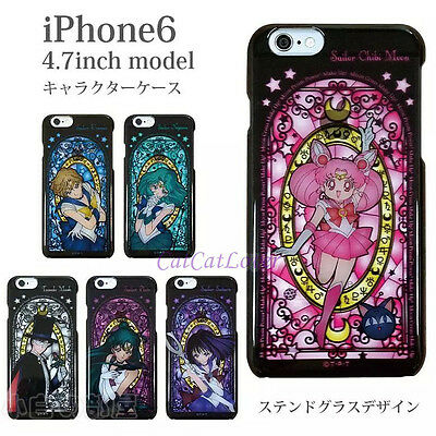 Stained glass Sailor Moon Princess hard plastic thin case cover skin iPhone 6s 5