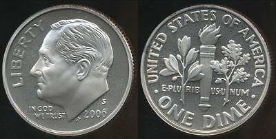 United States, 2006-S Dime, Roosevelt - Proof