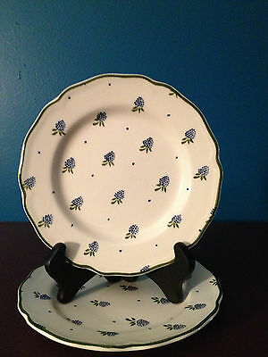 """Johnson Brothers Stoneware""""  Berries"""" Pattern 7"""" Bread/Butter Plates (2)"""