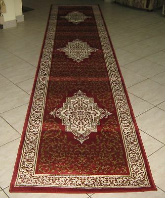 New Extra Long Traditional Persian Design Heatset Floor Hallway Runner 80X400Cm