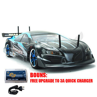 HSP 2.4G 1/10 Brushless Motor On Road RC Car with Lipo Battery 01033