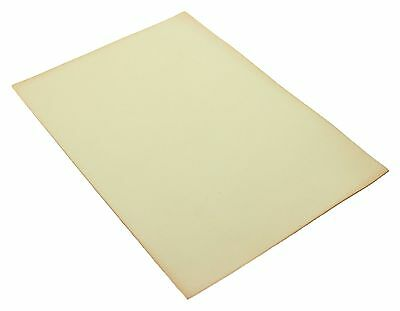 Full Grain Vegetable Tanned A4 Tanlow Leather for Leathercraft Natural 3oz 1.4mm