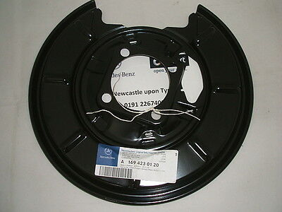 Genuine Mercedes-Benz W169 A-Class LH REAR Brake Backing Plate A1694230120 NEW