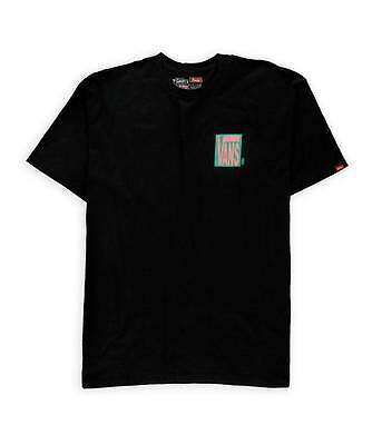 f15c7802a0 Vans Off The Wall Blocked Up Graphic Tee Mens Black Double Logo T-Shirt New