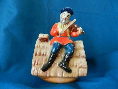 Vintage 50's Fiddler On the Roof Music Box, Made In Hong Kong