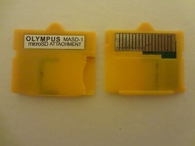 Micro SD Attachment MASD-1 Camera TF to XD Card insert adapter for OLYMPUS - CAN