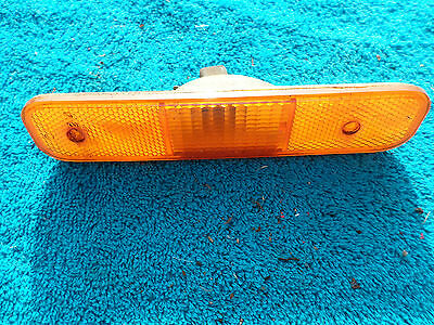 Triumph Tr7 Tr8 Side Marker Lights Red Amber Lucas L927 Used