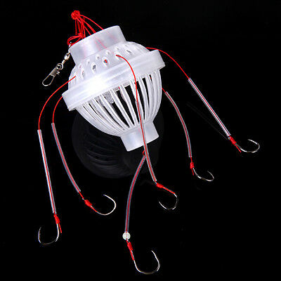 XICA Fishing Tackle Sea Fishing Box Hook Monsters with Six Strong Fishing Hook