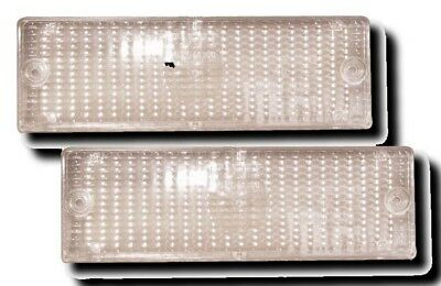 Bmw 3-Series E30 Front Indicator Lenses - Clear