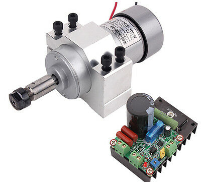 300W CNC Spindle Motor Kits +  PWM Speed Controller +  Mount Bracket