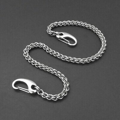 Stainless Steel JPL Rope Wallet Chain - Various Lengths - Slim & Sturdy