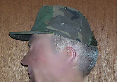 Camouflage Military Style Ball Cap, Adjustable