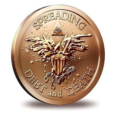 2013 SBSS Warbird 1 oz .999 Copper BU Round USA Made American Bullion Coin
