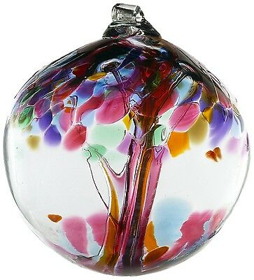 """Kitras tree of enchantment Ball 2"""" Friendship Witchball Hand Blown Glass"""