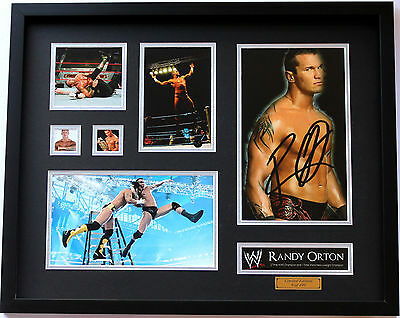 New Randy Orton Signed Limited Edition Memorabilia Framed