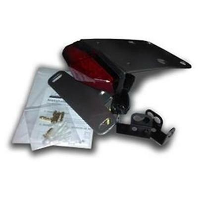 Kawasaki KLX250S & SF DRC Edge2 Red LED Tail Light w Bracket / Fender Eliminator