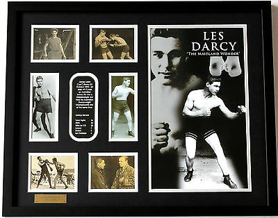 New Les Darcy Limited Edition Memorabilia Framed