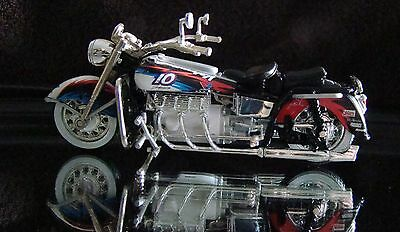 Hot Wheels Valvoline #10  1:18 Scale Diecast 2002 Motorcycle From Display Case