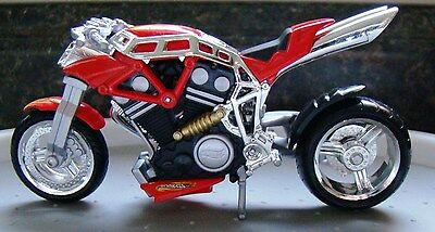 Hot Wheels 1:18 Scale Diecast 2002 Mattel Motorcycle From Display Case