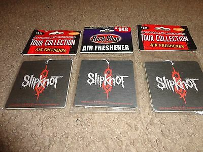 Slipknot Logo Rock Air Freshener Set Of 3 Strawberry Scented