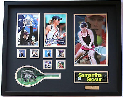 New Samantha Stosur Signed Limited Edition Memorabilia Framed
