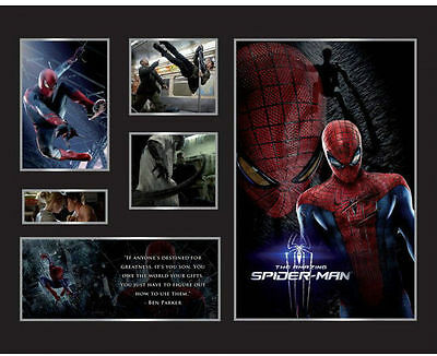 New Spiderman Limited Edition Memorabilia Framed