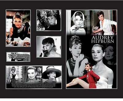 New Audrey Hepburn Limited Edition Memorabilia Framed