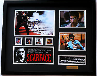 New Scarface Signed Limited Edition Memorabilia Framed