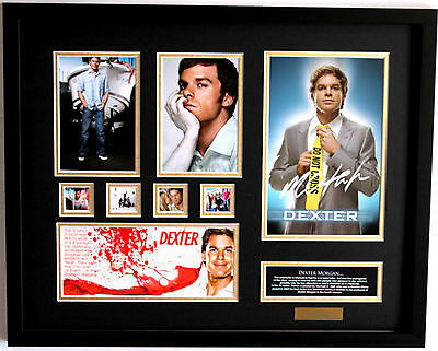 New Dexter Signed Limited Edition Memorabilia Framed