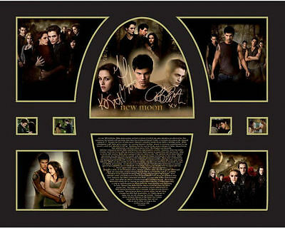 New Twilight New Moon Signed Limited Edition Memorabilia Framed