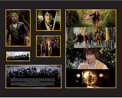 New The Hobbit Signed Limited Edition Memorabilia Framed