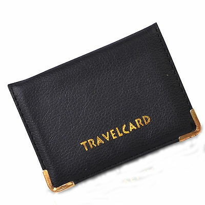 Pu Leather Oyster Travel Card Bus Pass Holder Wallet Rail Card Cover Case
