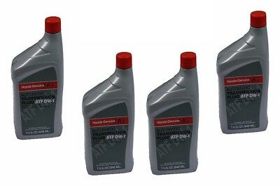 4 Quarts Genuine / Sterling ATF DW-1 Automatic Transmission Oil Fluid Fits Honda