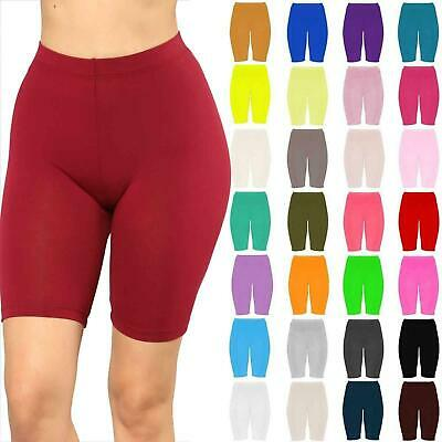 Womens Cycling Shorts Dancing Gym Biker Hot Pants Leggings Active Casual Sports