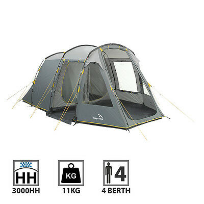 Easycamp Wilmington 400 4 Man Person Camping Tunnel Tent